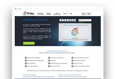 Corporate website development