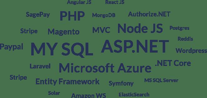 Technologies: ASP.NET, PHP, Node.js